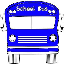 Picture of Blue School Bus