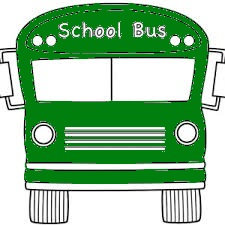 Picture of Green School Bus